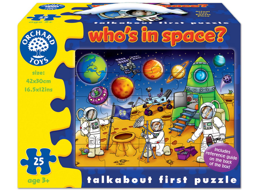 Who's In Space Puzzle Orchard Toys