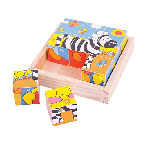 Big Jigs Safari Cube Puzzle