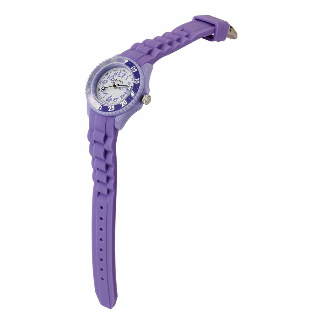 Cactus Time Tutor Watch Purple