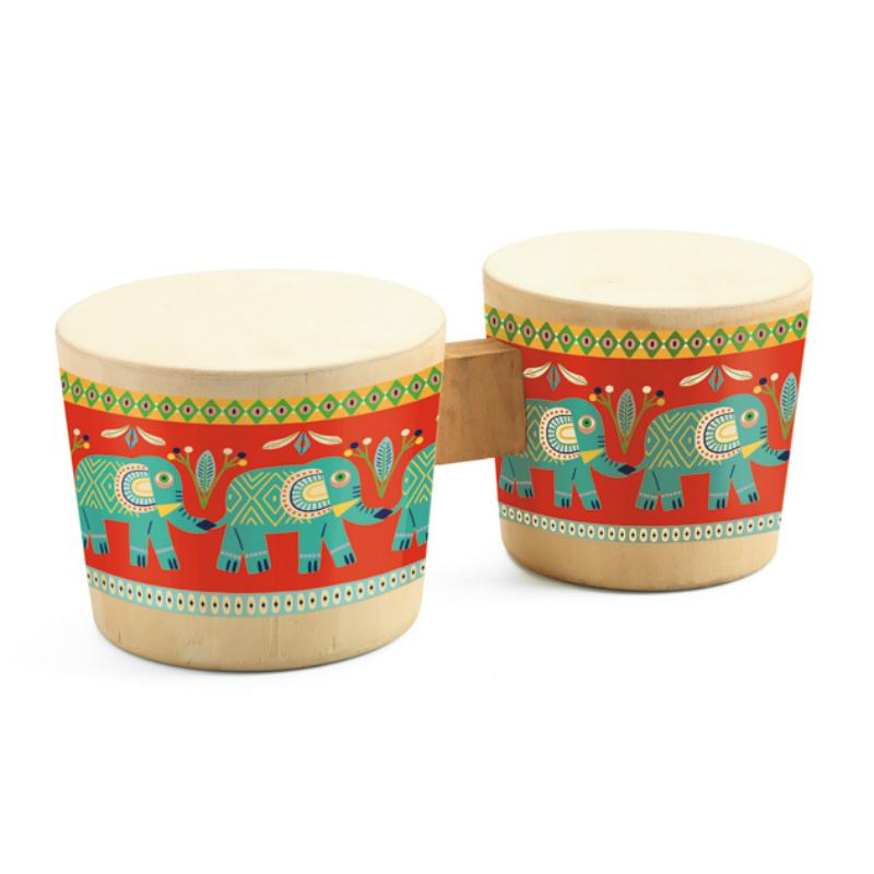 Djeco Animambo Bongo Drum Set