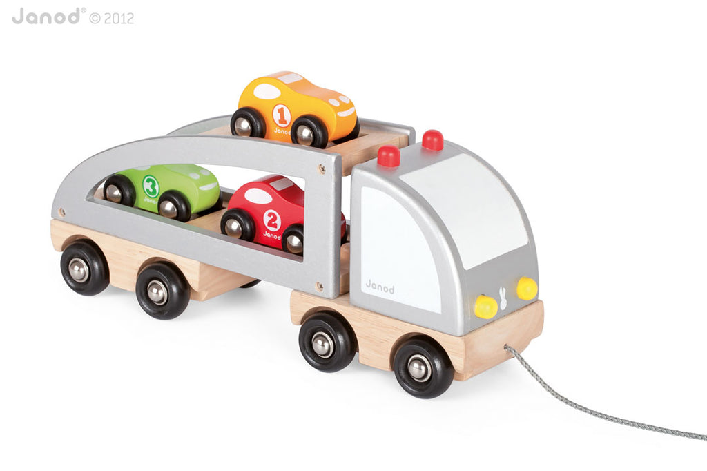Janod - Multi Car Truck
