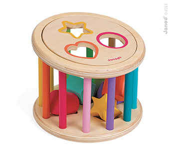 Janod - Shape Sorter Drum