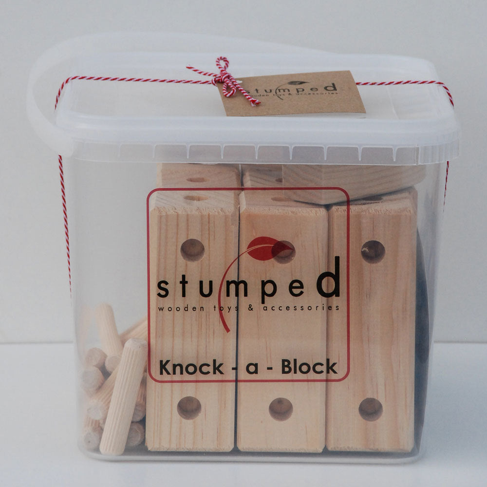 Knock a Block by Stumped