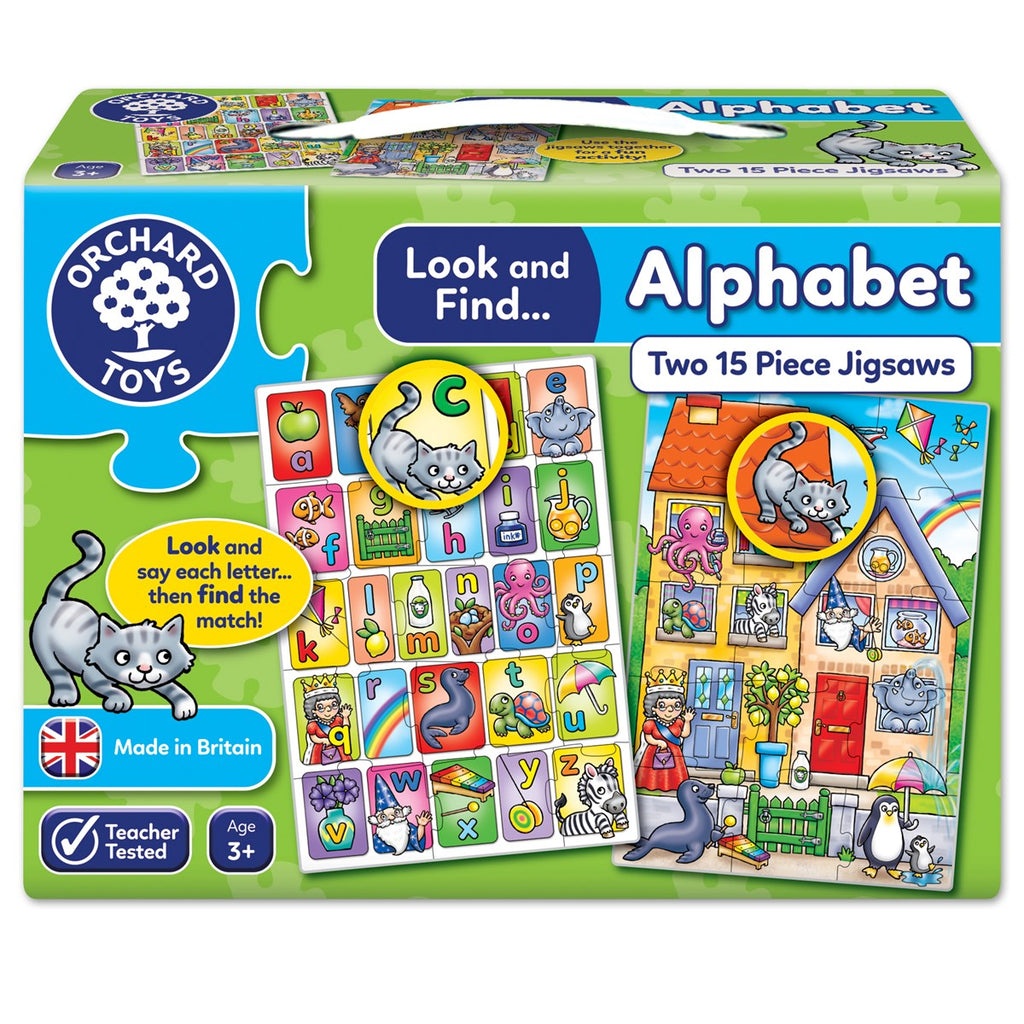 Look and Find...Alphabet Jigsaw