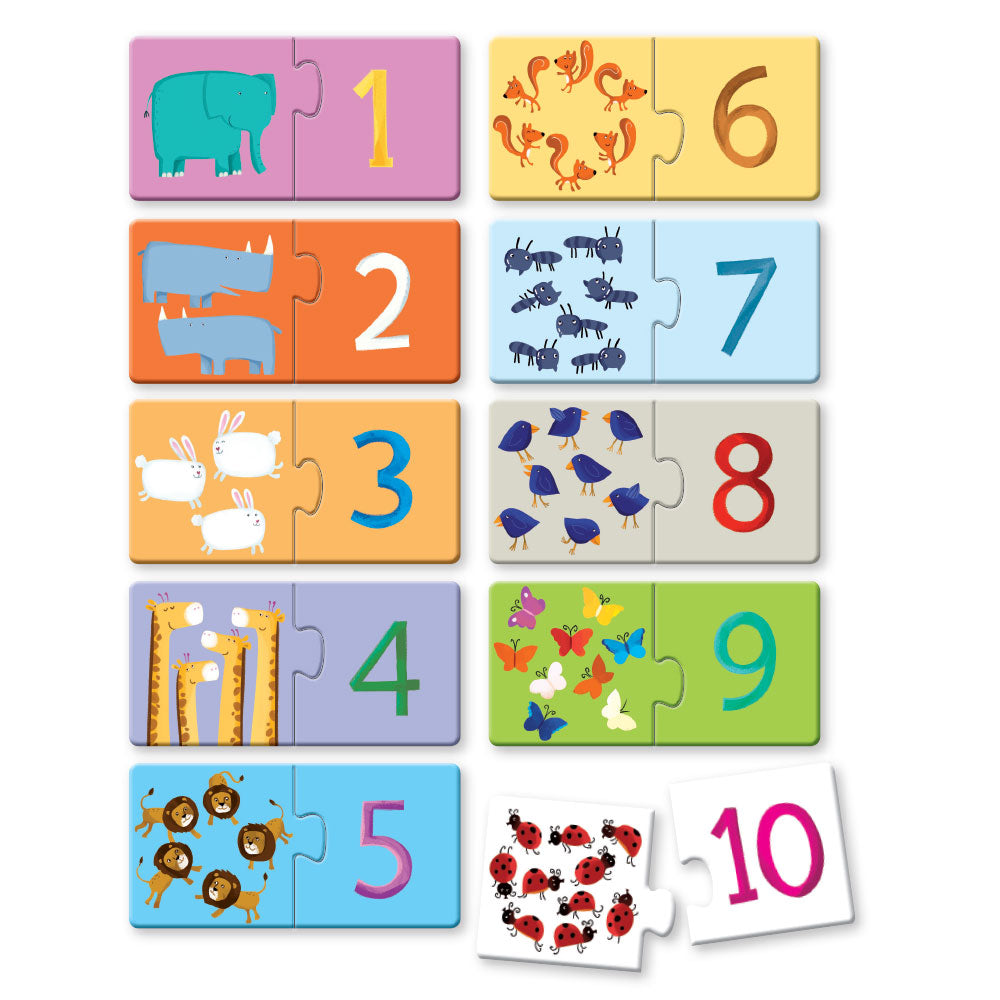 Numbers First Puzzle