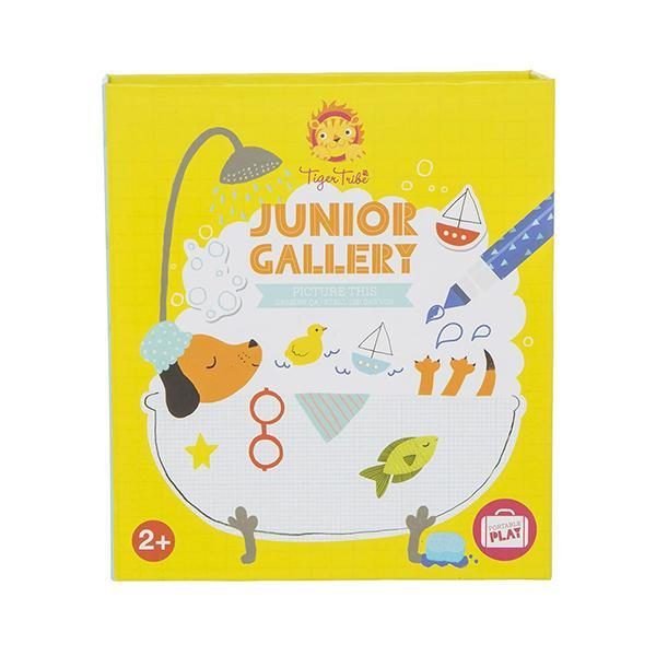 Picture This Junior Gallery colouring set