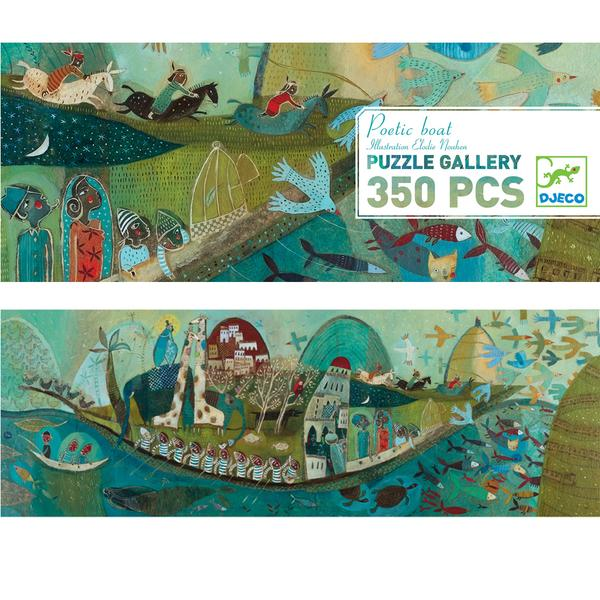 Poetic boat gallery puzzle by Djeco