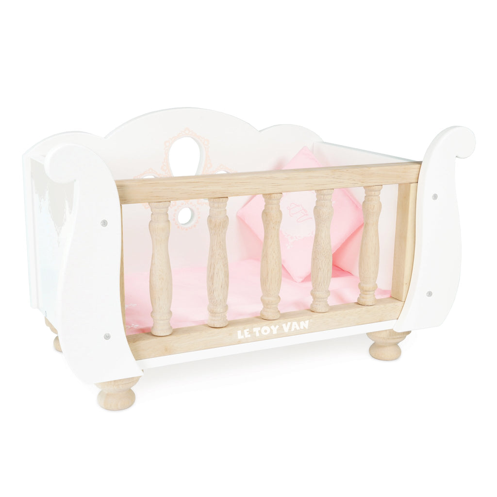 Sleigh Doll Cot by Le Toy Van