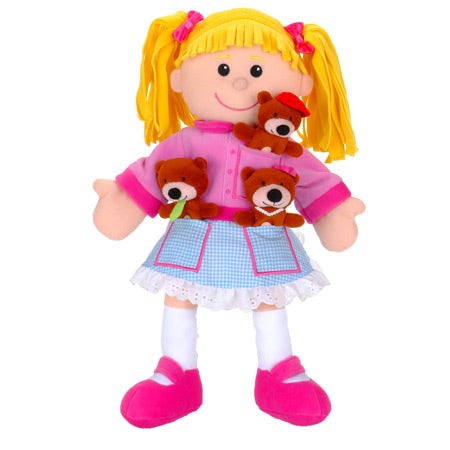 Goldilocks Hand Puppet