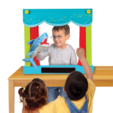 Carry Case Hand Puppet Theatre & Shop
