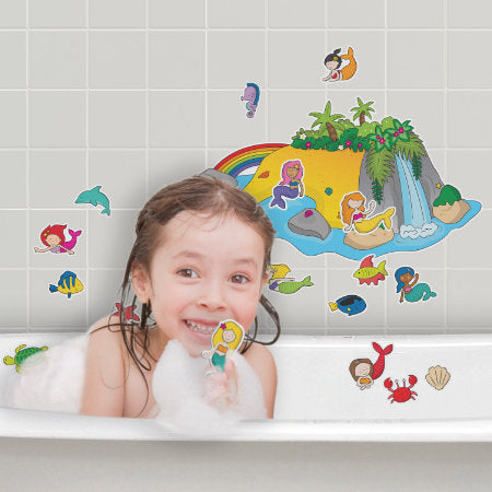 Magical Island Stickabouts Bath Set