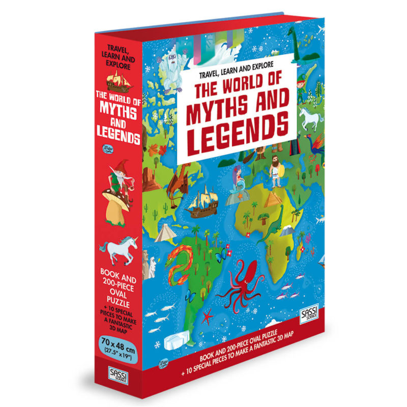 The World of Myths and Legends - Sassi