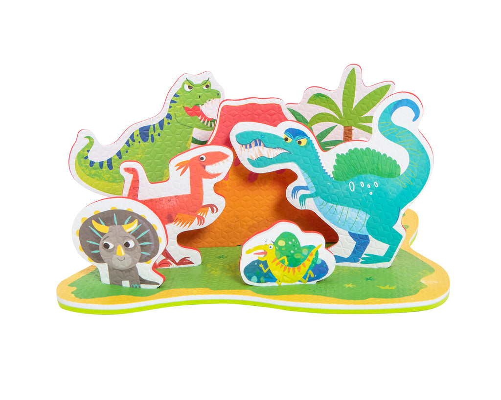 tiger tribe dinosaur island bath toy