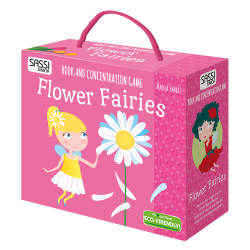 Sassi - Flower Fairies Memory Game + Book