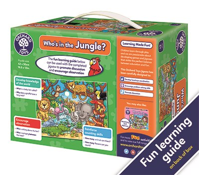 Orchard Toys Who's In the Jungle Puzzle