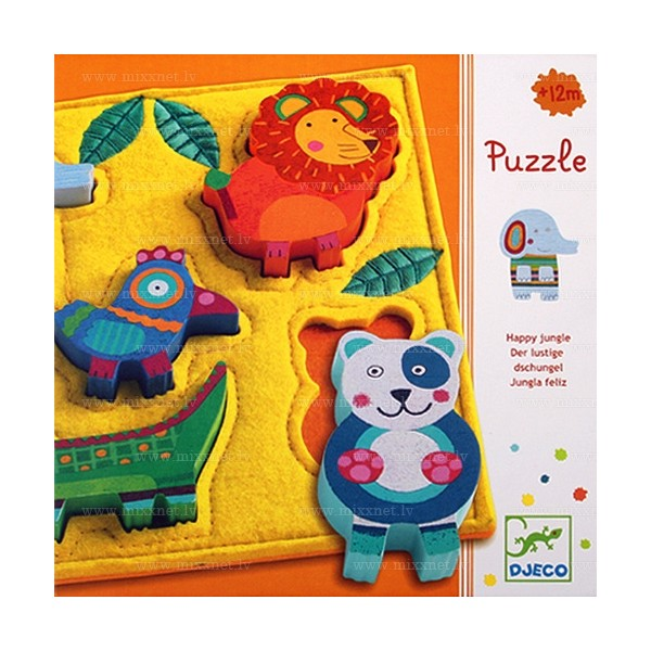 Djeco Jungle Relief Puzzle