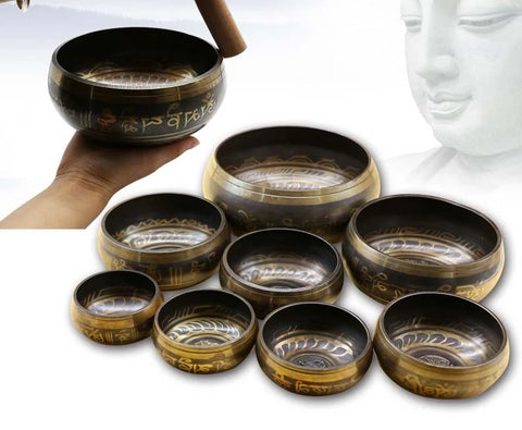 'The Singing Bowls' - Copper Buddhist Meditation Bowl