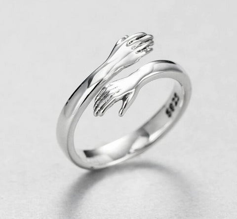 'Embrace' - 925 Sterling Silver Ring