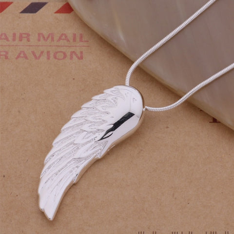 'The Wing' - 925 Sterling Silver Necklace