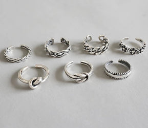 'The Toe Ring' - 925 Sterling Silver Ring