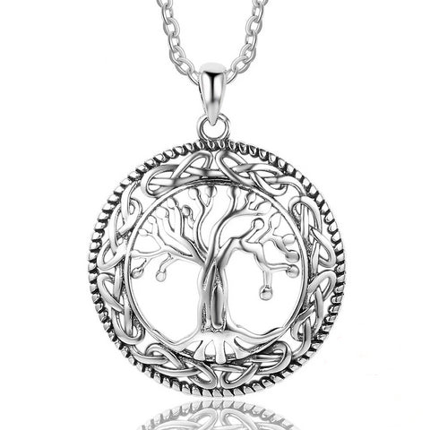 'The Banyan Shrine' - 925 Sterling Silver Necklace