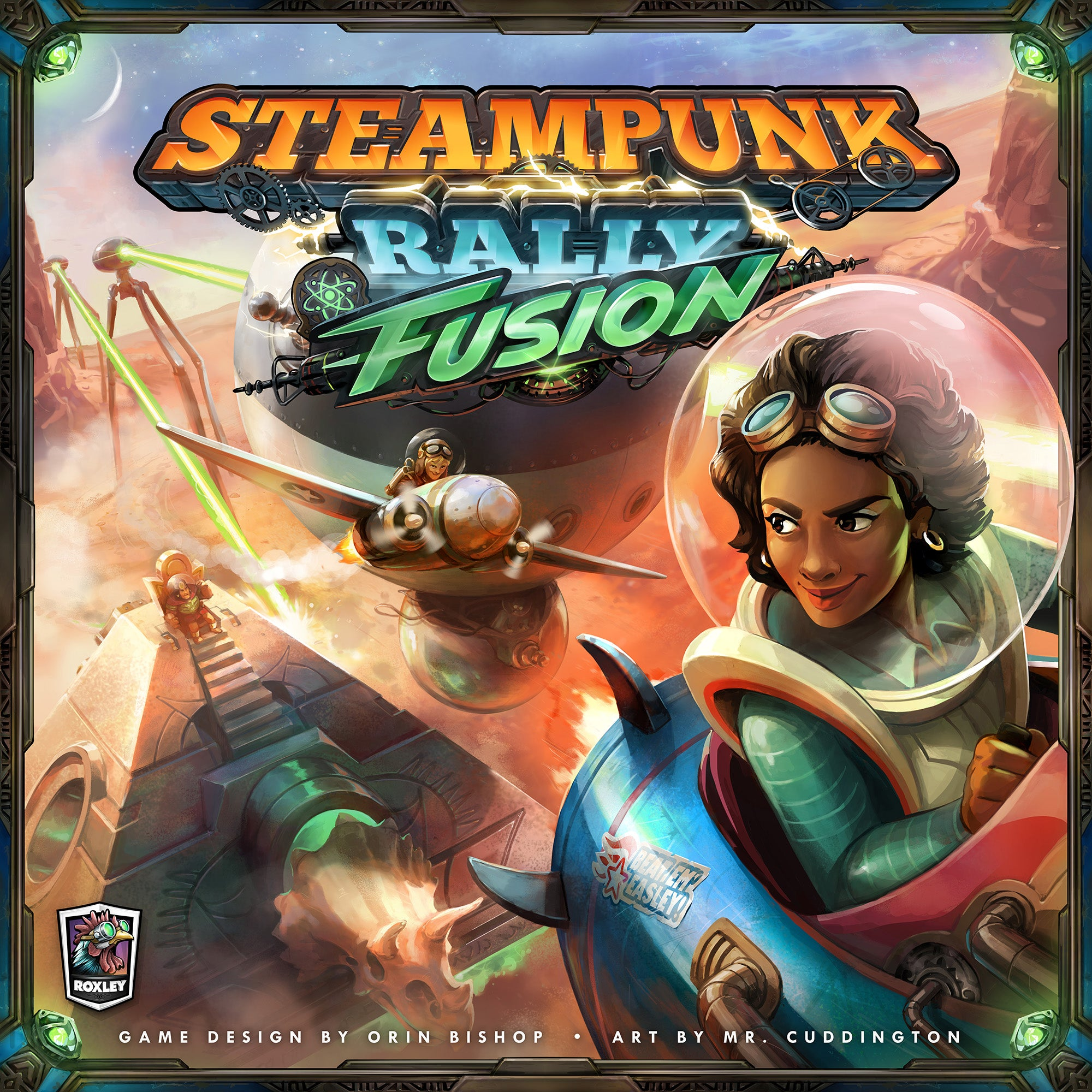 Steampunk Rally Fusion Cover