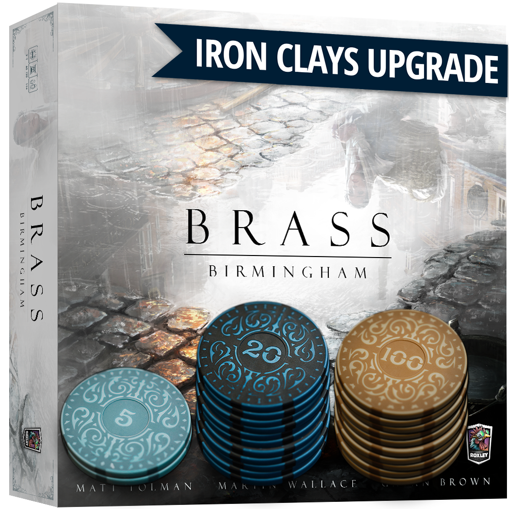 Iron Clays - Sleeve of 22 (Brass Upgrade Sleeve)