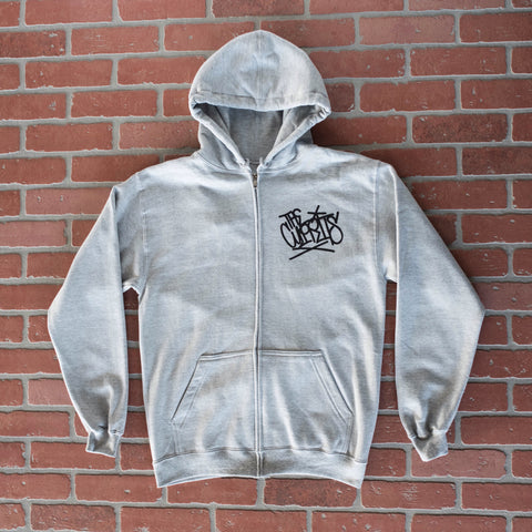 CROOKED COP ZIP UP