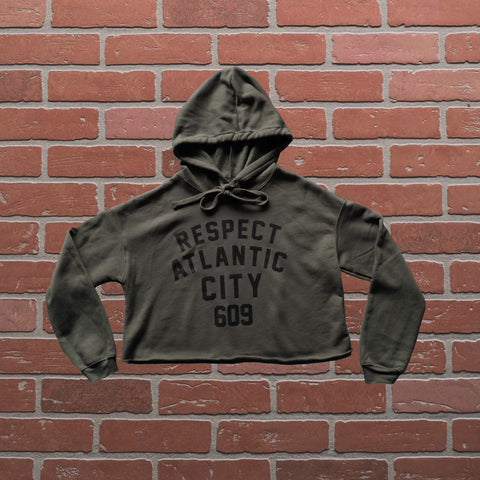 RESPECT CROPPED PULLOVER