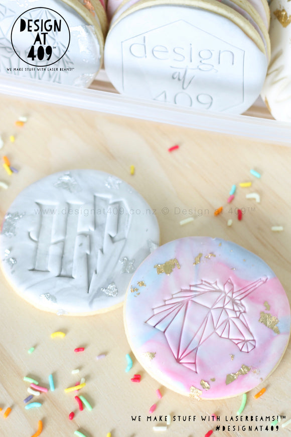 Acrylic Embossing Cookie Stamps
