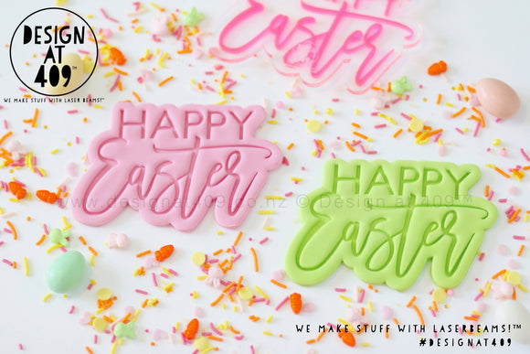 50% OFF! Happy Easter 2 Stamp & Cutter