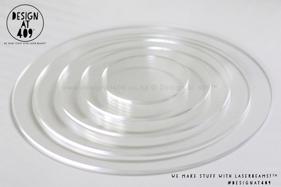 Evens Set Of Ganache Boards - 3mm or 4.5mm Thick Acrylic