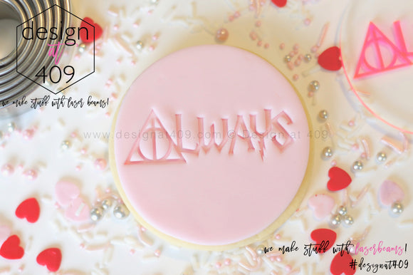 Always HP Acrylic Embosser Stamp