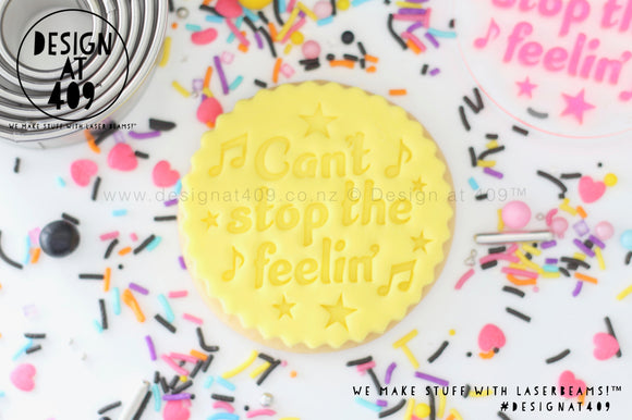 Can't Stop The Feelin' Trolls 2 Acrylic Embosser Stamp