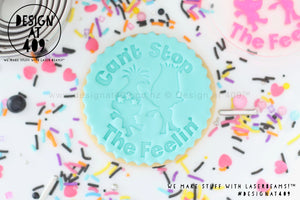 Can't Stop The Feelin' Trolls 1 Acrylic Embosser Stamp