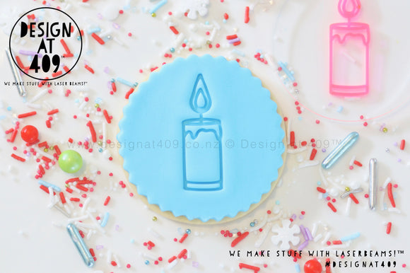 Candle Acrylic Embosser Stamp