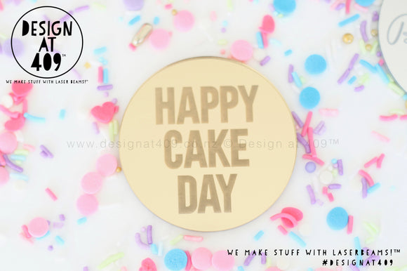 Happy Cake Day Small / Celebration Cake Dots