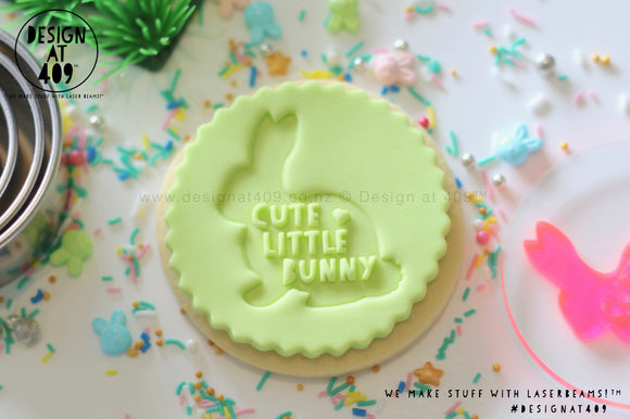 Cute Little Bunny Acrylic Embosser Stamp