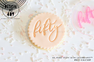 Fifty 1 Acrylic Embosser Stamp