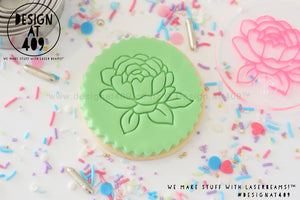 Floral 3 Acrylic Embosser Stamp