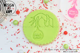 Grinch Please Acrylic Embosser Stamp