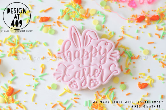 40% OFF! Happy Easter 1 Stamp & Cutter