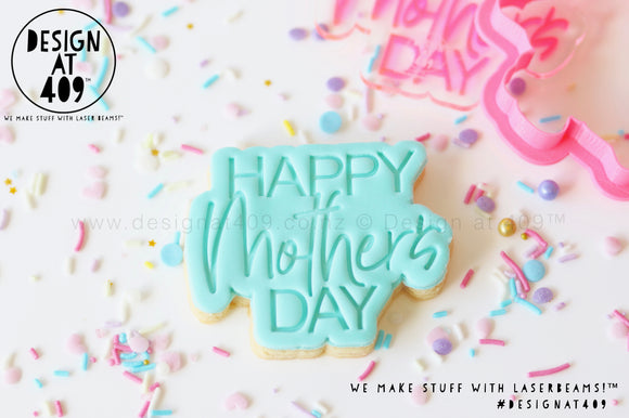 Sale! Happy Mother's Day Stamp & Cutter