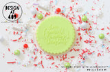 Have Yourself A Merry Christmas Raised Acrylic Fondant Stamp