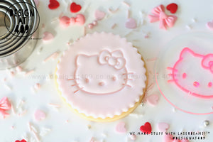 Hello Kitty 1 Acrylic Embosser Stamp
