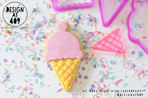 Ice Cream Stamp & Cutters Set