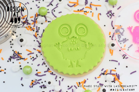 Monster 1 Acrylic Embosser Stamp