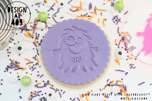 Monster 3 Acrylic Embosser Stamp