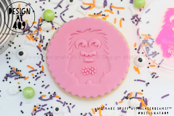 Monster 4 Acrylic Embosser Stamp