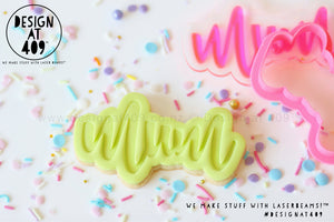 Sale! Mum Stamp & Cutter